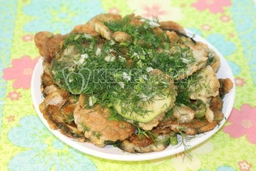 Закуска из кабачков - рецепт