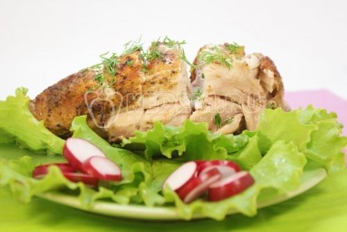 Рецепт Куриная грудка в фольге