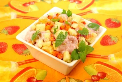 Вкусный салат с фасолью на зиму из помидоров
