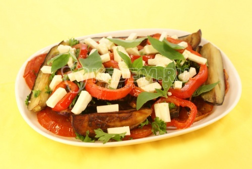 Рецепт Ароматные баклажаны
