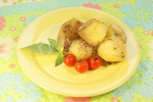 Рецепт Молодой картофель запеченный в фольге со специями