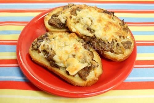 Рецепт Бутерброды «Осенний завтрак»