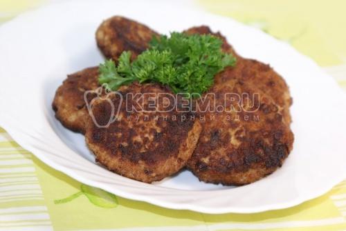 Рыбные котлеты «Неженка». Кулинарный рецепт приготовления вкусных рыбных котлет из терпуга.