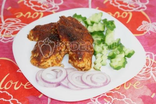Рецепт Куриное филе в паприке