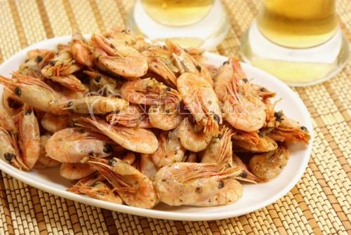 Рецепт Закуска  «Пивная креветка»