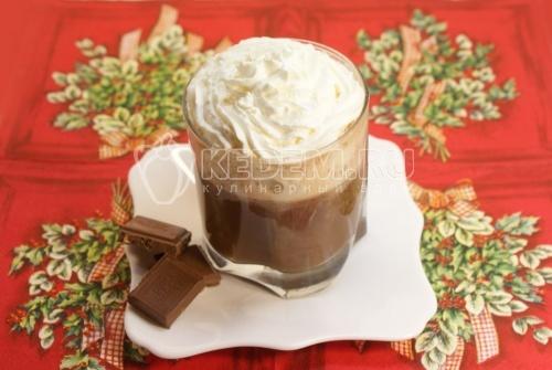 Рецепт Сливочно-кофейный напиток