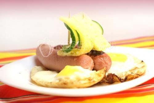 Рецепт Завтрак «Парусник»