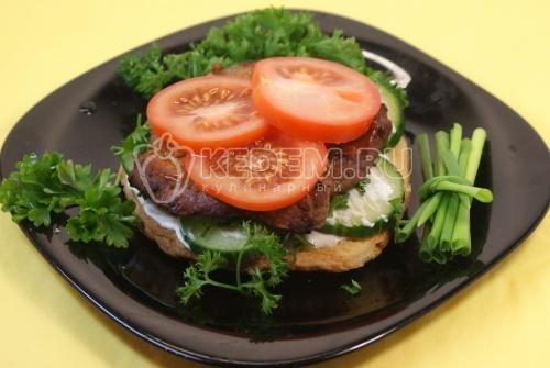 Рецепт «Бургер»