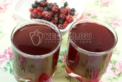 Рецепт Компот из ягод