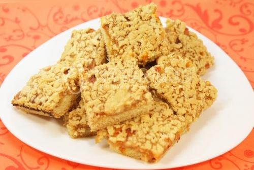 Рецепт Печенье «Вкусняшка» с яблочным джемом и облепихой
