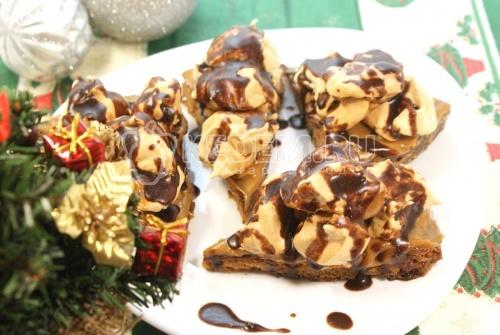 Рецепт Пирожное «Новогоднее»