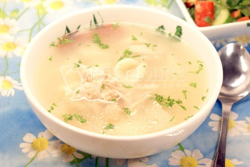 Рецепт Суп с «ушками»