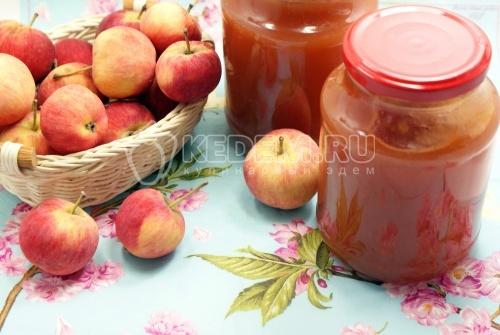 Повидло из яблок. Кулинарный рецепт с фотографиями приготовления яблочного повидла.