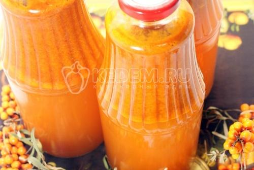 Облепиховый сок . Кулинарный рецепт с фото приготовления сока из облепихи на зиму.