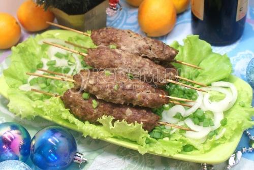 Рецепт Мясо на шпажках