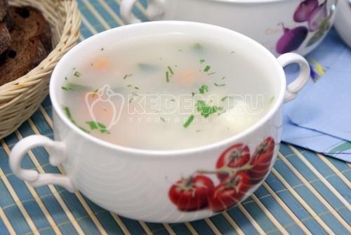 Рецепт Острый рыбный суп