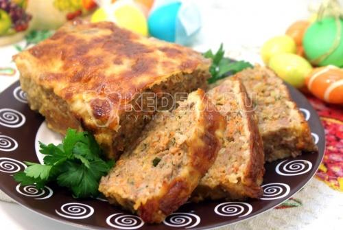 Мясная буханка. Пошаговый кулинарный рецепт с фотографиями приготовления мясной буханки.