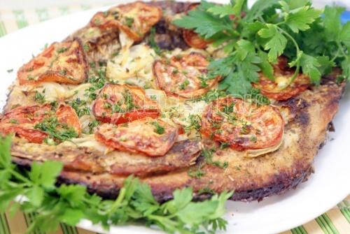 Рецепт Запеченный сазан «Рыбацкий подход»