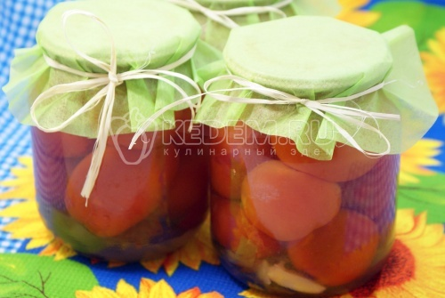 Рецепт Маринованные помидоры сладко-острые