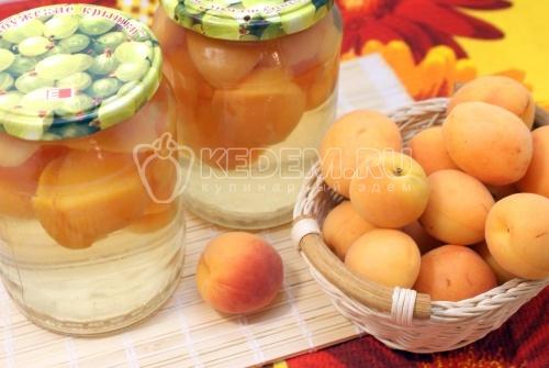 Рецепт Абрикосовый компот