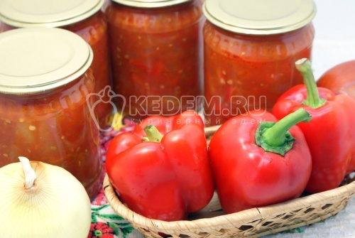 Лечо на зиму «Сладкое». Пошаговый кулинарный рецепт с фотографиями приготовление лечо из болгарских перцев с помидорами.