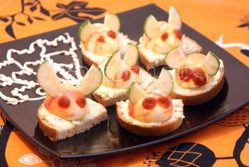 Рецепт Бутерброды «Гремлины»