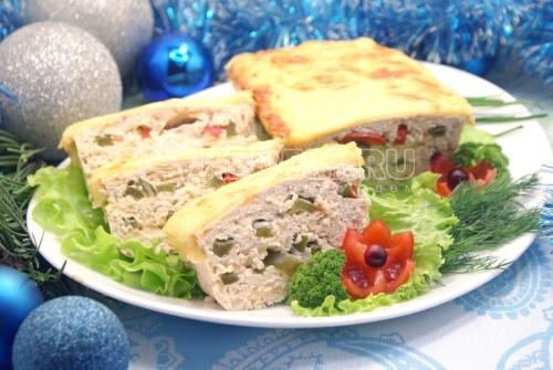 Рецепт Террин «Новогоднее конфетти»