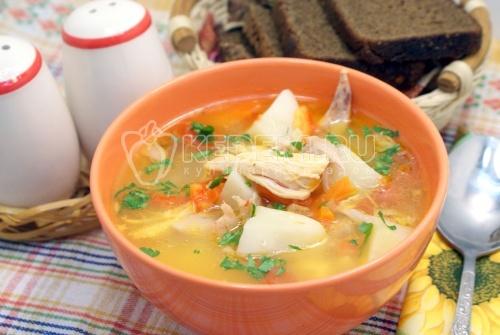 Суп В Казане Рецепты