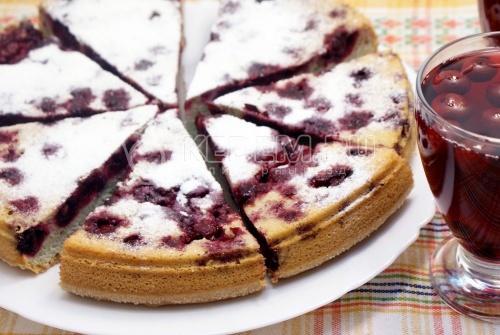Вишнёвый пирог - рецепт