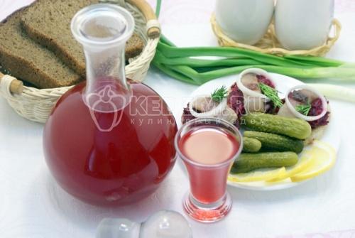 Рецепт Настойка «Клюковка»