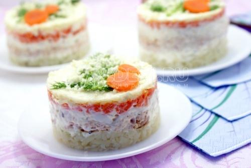 Салат «Мимоза». Пошаговый кулинарный рецепт с фото приготовления салата Мимоза.