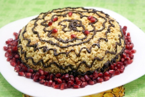 Кулинария торт муравейник фото