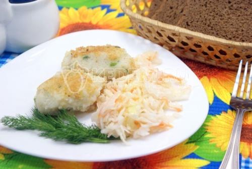 Рецепт Котлеты из картофельного пюре