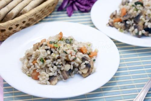 Рецепт Перловка с грибами