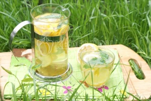 Домашний лимонад. Пошаговый кулинарный рецепт с фотографиями приготовления домашнего лимонада из лимонов и мяты.