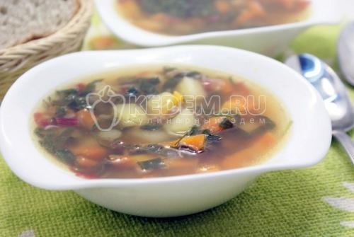 Рецепт Суп с тушенкой