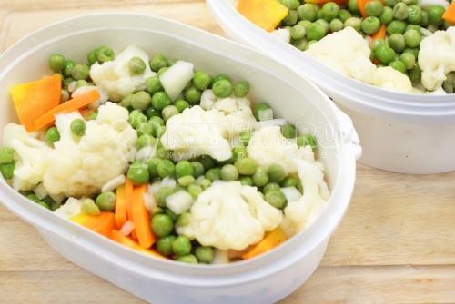Рецепт Овощная смесь на зиму