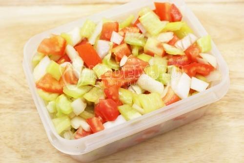 Рецепт Овощная смесь к мясу на зиму
