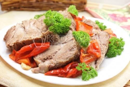 Рецепт Мясо в рукаве