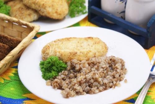 Рецепт Куриные котлеты в духовке