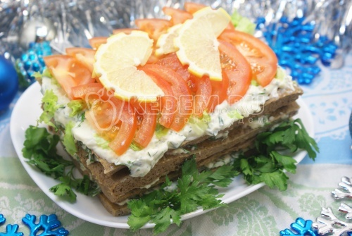 Рецепт Тортик печеночный