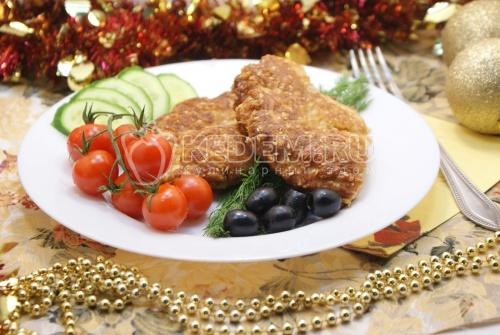 Рецепт Отбивные из курицы в панировке
