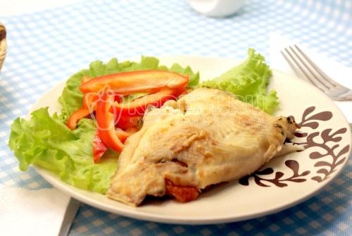 Рецепт Камбала с сыром фета