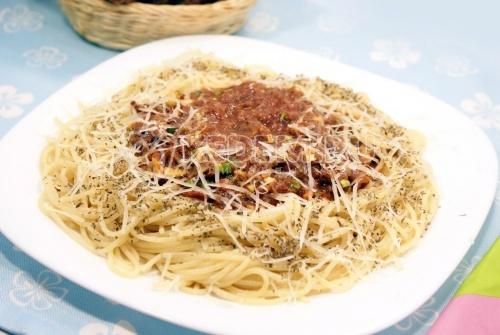 Рецепт Спагетти с мясным соусом