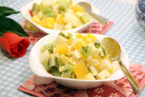 Рецепт Фруктовый салатик