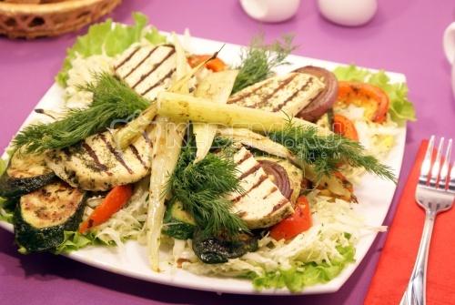 Рецепт Овощи гриль на сковороде гриль