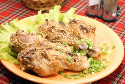 Рецепт Куриные ножки в духовке