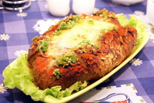 Запеченный багет