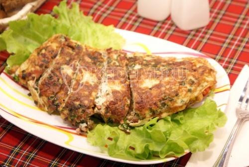 Рецепт Омлет на сковороде