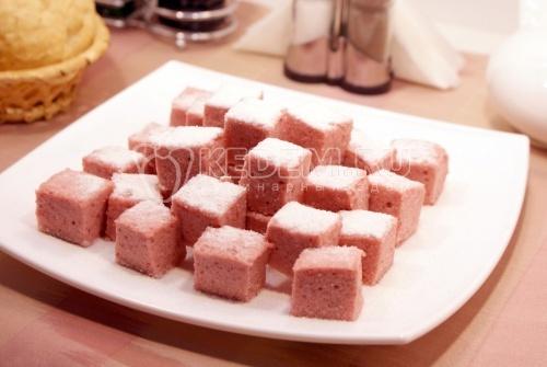 Рецепт Десерт «Клубничные облака»
